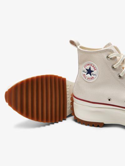 neutral run star high top sneakers