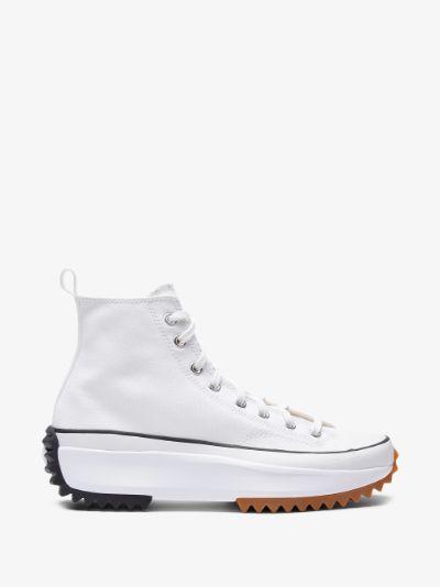 White Run Star Hike High Top Sneakers
