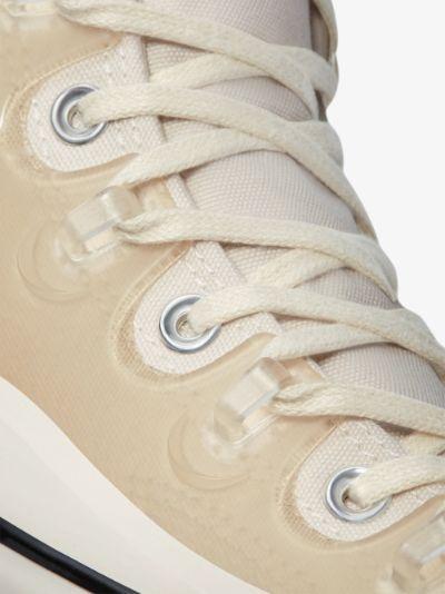 X Kim Jones Neutral Chuck 70 High Top Sneakers