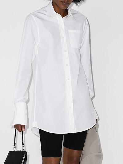 longline cotton shirt