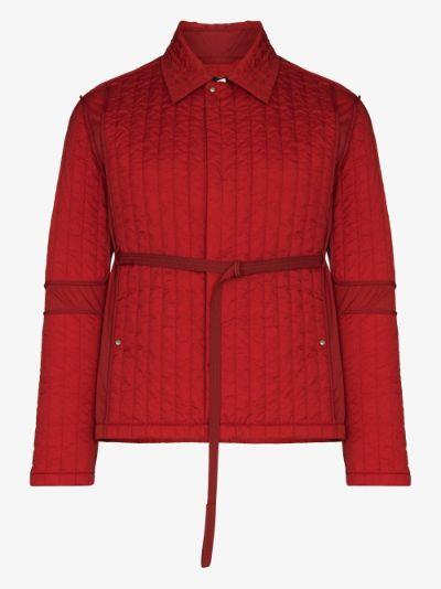 Skin Belted Quilted Jacket