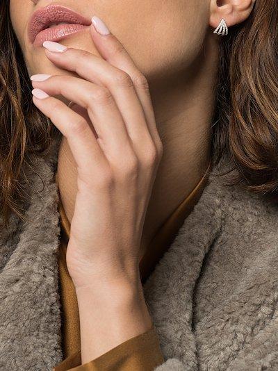 14K white gold Sarah Leah diamond earrings