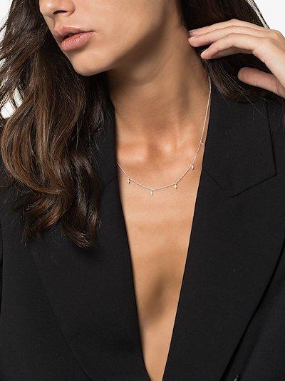 14K white gold Sophia Ryan diamond necklace