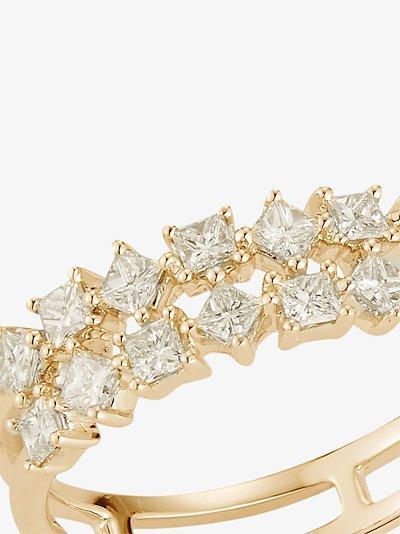 14K yellow gold Millie Ryan diamond ring