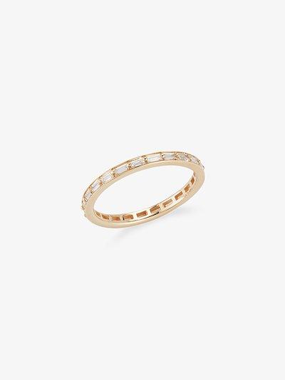 14K yellow gold Sadie Pearl diamond ring