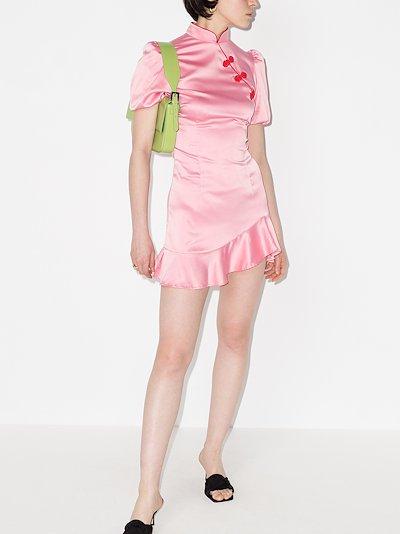 Bluebell ruffled mini dress