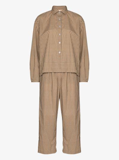 Gingham Cotton Pyjamas