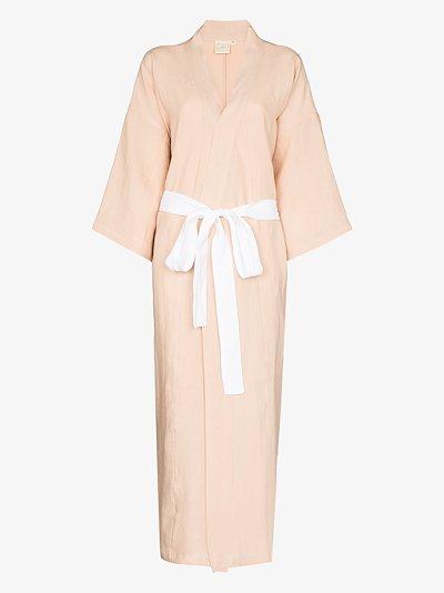 the 02 linen robe