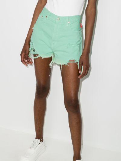 Nic Distressed Denim Shorts