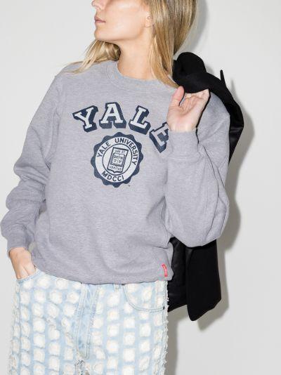Yale print sweatshirt