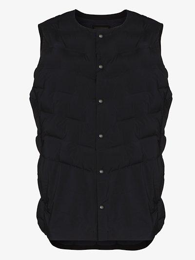 Black D.I.S. padded vest