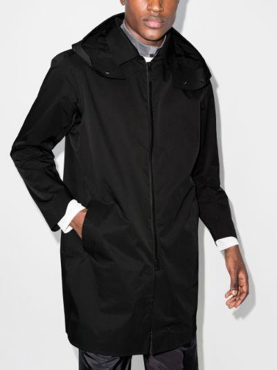 Black H20FF Hooded Coat