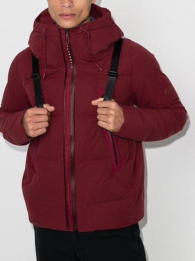 Red Mizusawa padded jacket