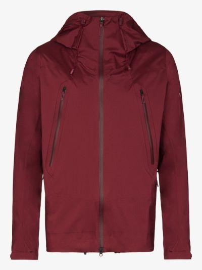 Red Shell Creas jacket