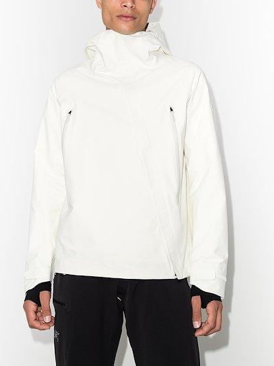 White GORE-TEX Pro X-Treme shell jacket