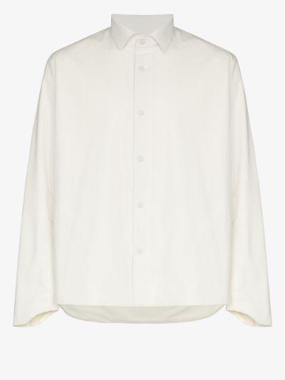 White Wind Shield Seamless Shirt