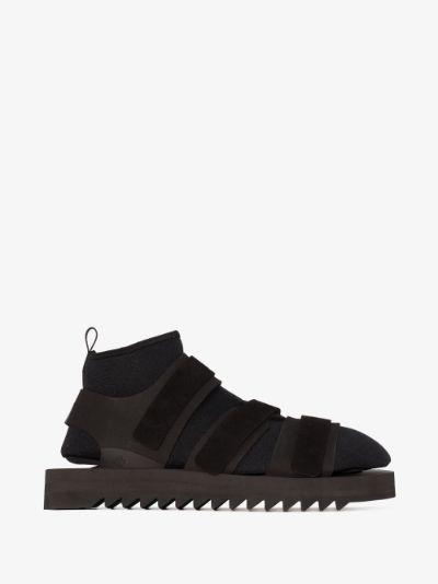 X Suicoke Black Kisee-DSV sandals