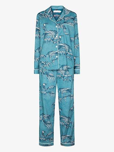 Bocas printed cotton pyjama set