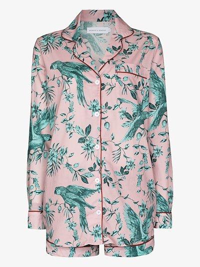 Bromley Parrot print pyjamas