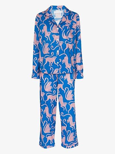 Chango monkey print pyjamas