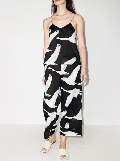 Cygnus swan print pyjamas