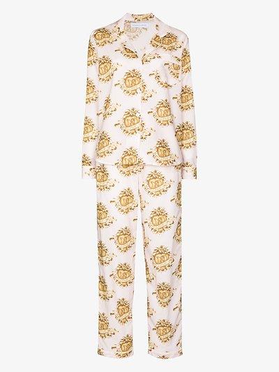 Eros heart print pyjamas