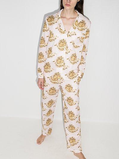 Eros print pyjamas