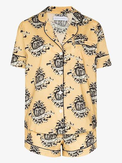Eros printed pyjamas