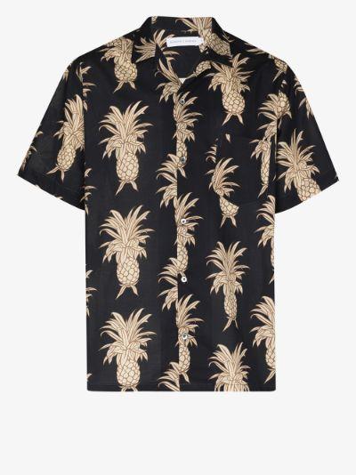 Howie Pineapple Print Pyjama Shirt