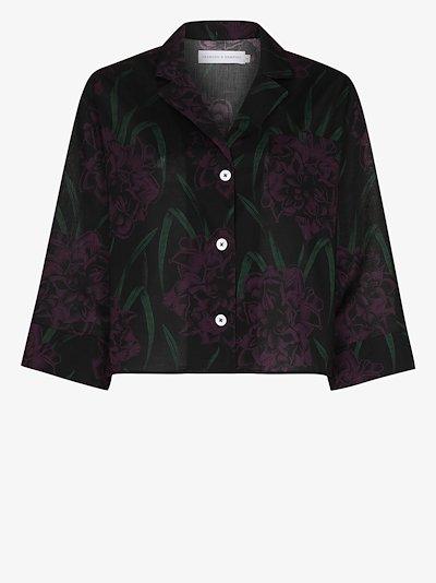 Narcissus boxy pyjama shirt