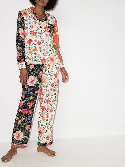 Persephone floral print pyjamas