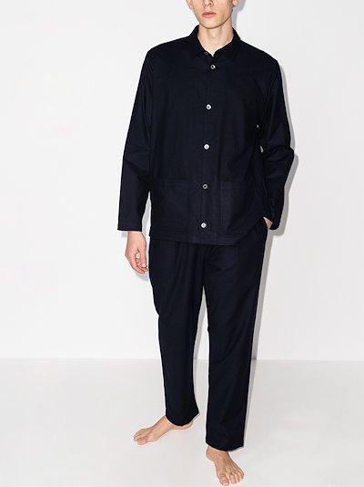 Pip brushed cotton pyjamas