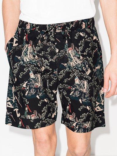 samurai pyjama shorts