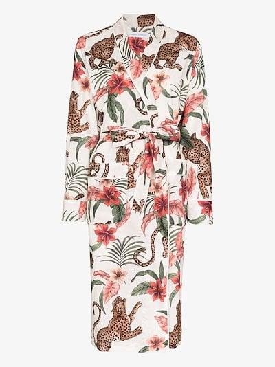 Soleia organic cotton robe