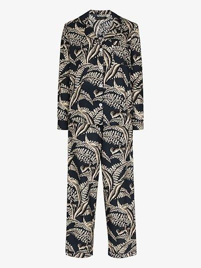 The Fern print pyjamas
