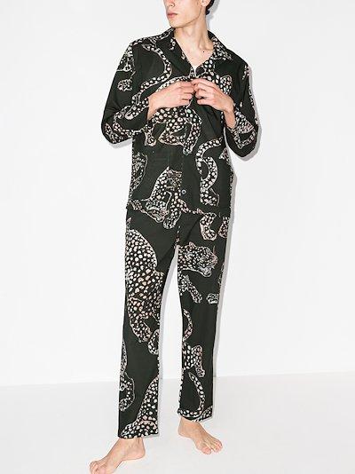 The Jag printed pyjamas