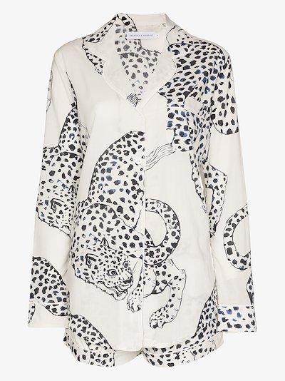 The Jaguar print pyjamas