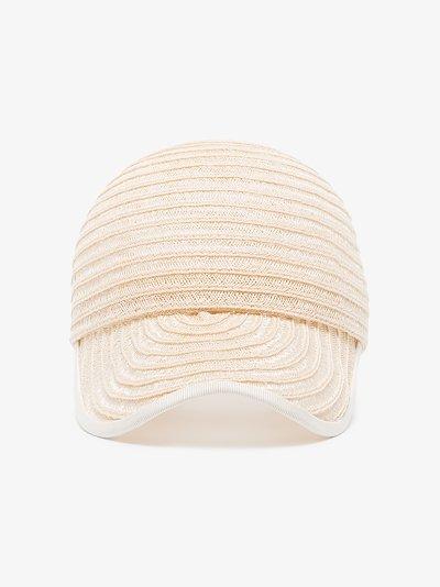 white Raymond straw cap