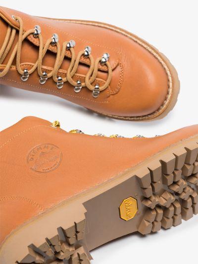 brown Tirol leather hiking boots