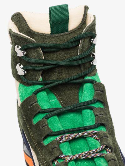 green mix Civetta suede boots