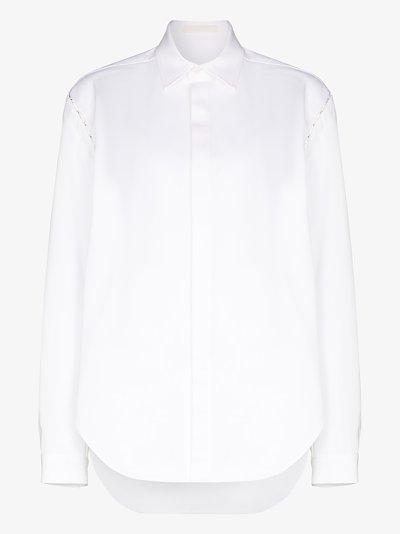 detachable sleeve shirt