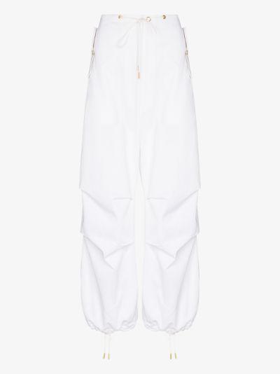 wide leg baggy trousers