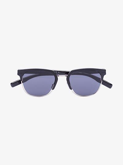 Black AL13 clubmaster sunglasses