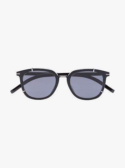 black BlackTie254S square sunglasses