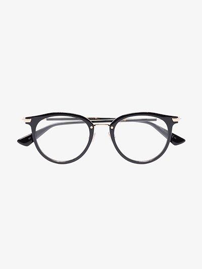 black Line3F round optical glasses