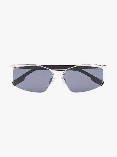 Black Psychodelic Sunglasses