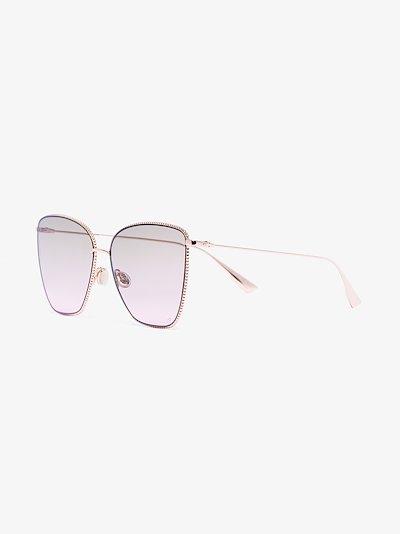 Gold tone Society sunglasses