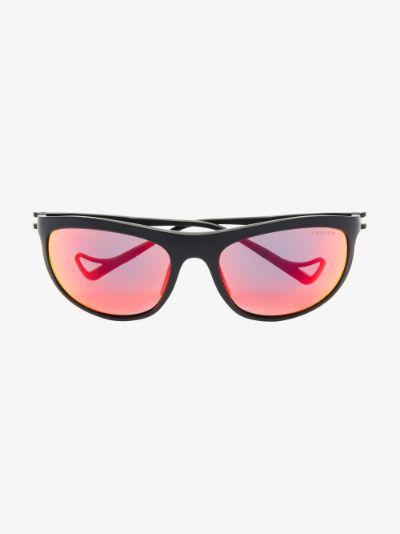 black and red keiichi calm tech sunglasses