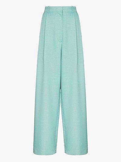 Coco high waist wool trousers