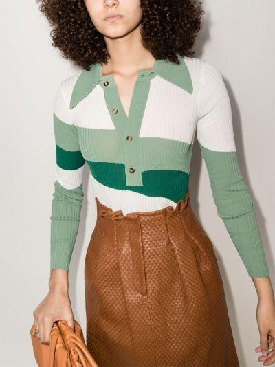 Hera colour block bodysuit